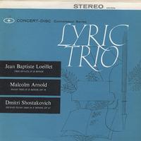 Lyric Trio - Loeillet: Trio Sonata etc.