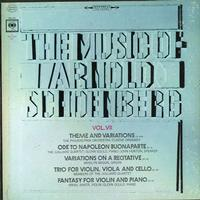 Various Artists - The Music of Arnold Schoenberg Vol. VII