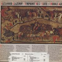 Fedoseyev, The USSR TV & Radio Large Symphony Orchestra - Glazunov: Symphony No. 5