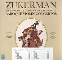 Zukerman, Members of the Los Angeles Philharmonic Orchestra - Baroque Violin Concertos