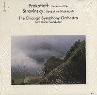 Reiner , Chicago Symphony Orchestra-Prokofiev: Lt. Kije etc.