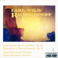 Earl Wild - Wild, Earl/ Horenstein, Fascha/ Royal Philharmonic Orch/ Rachmaninoff: Piano Concerto No.4