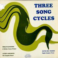 Batstone, Ashforth, Tredici - Three Song Cycles