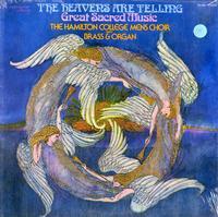 The Hamilton College Mens Choir - The Heavens Are Telling