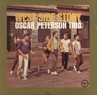 Oscar Peterson Trio West Side Story Preowned Vinyl Record on oscar peterson trio tonight