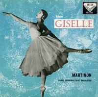 Jean Martinon: Paris Conservatoire Orchestra-Adam Giselle ballet