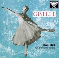Martinon, Paris Conservatory Orchestra - Adam Giselle: ballet