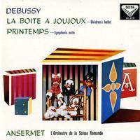 Ansermet, L'orch. De la Suisse Romande - Debussy: La Boite a Joujoux etc.
