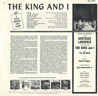 Original Cast Recording - The King And I