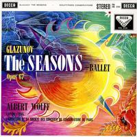 Albert Wolff, L'Orchestre De La Societe Des Concerts Du Conservatoire De Paris-Glazunov: The Seasons-Ballet Opus 67