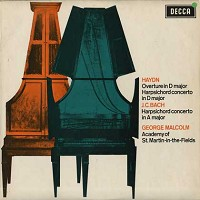 Malcolm, Munchinger, SCO-Haydn & Bach: Harpsichord Concertos, Overture in D