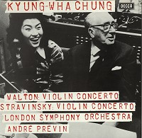 Kyung-Wha Chung, Previn, LSO - Walton, Stravinsky: Violin Concertos