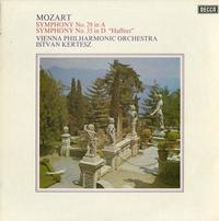 Kertesz, Vienna Phil. Orchestra - Mozart: Symphony No. 29 in A--Syphony No. 35 in D