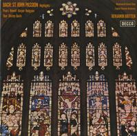 Pears, Harper, Britten, English Chamber Orchestra - Bach: St. John Passion - Highlights