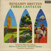 Britten, LSO and Chorus - Britten: Three Cantatas