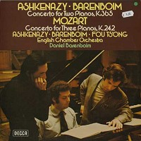 Ashkenazy, Barenboim, English Chamber Orchestra - Mozart: Concerto for Two Pianos etc.