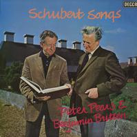 Peter Pears and Benjamin Britten - Franz Schubert Songs