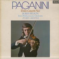 Belkin,Mehta, Israel Philharmonic Orchestra - Paganini: Violin Concerto No. 1
