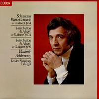 Ashkenazy, Segal, London Symphony Orchestra - Schumann: Piano Concerto etc.