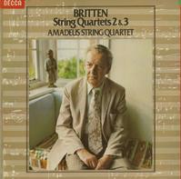 Amadeus String Quartet - Britten: String Quartets Nos. 2 & 3