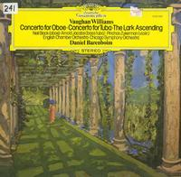 Barenboim, English Chamber Orchestra, Chicago Symphony Orchestra - Williams: Concerto for Oboe, Concerto for Tuba, The Lark Ascending