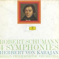 Herbert Von Karajan/The Berlin Philharmonic Orchestra - Schumann: 4 Symphonies
