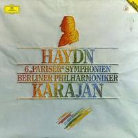 Herbert Von Karajan/The Berlin Philharmonic Orchestra - Haydn: 6 Pariser Symphonien