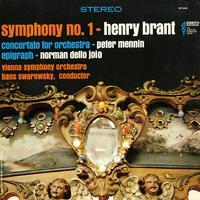 Swarowsky, Vienna Symphony Orchestra - Brant: Symphony No. 1 etc.