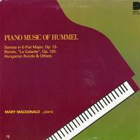 Mary Macdonald - Piano Music of Hummel