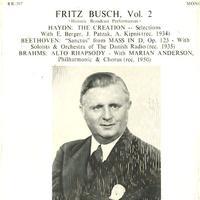Fritz Busch - Fritz Busch Vol. 2