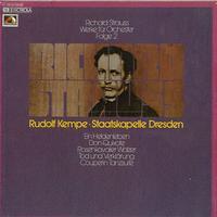 Kempe, Staatskapelle Dresden - Strauss: Werke fur Orchester Vol. 2
