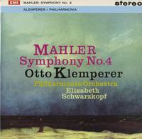 Klemperer, Philharmonia Orchestra - Mahler: Symphony No. 4