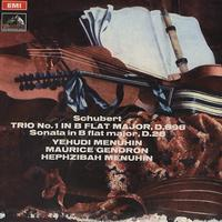 Menuhin, Gendron, Menuhin - Schubert: Trio in B flat major etc.