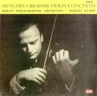 Kempe, Berlin Philharmonic Orchestra - Brahms: Violin Concerto in D-Major