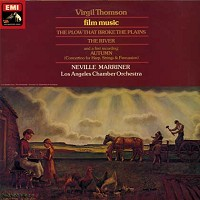 Marriner, Los Angeles Chamber Orchestra - Thomson: Film Music/TAS