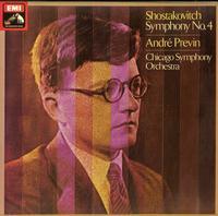 Previn, Chicago Symphony Orchestra-Shostakovitch: Symphony No. 4