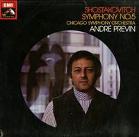 Previn, Chicago Symphony Orchestra - Shostakovitch: Symphony No. 5