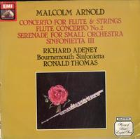 Thomas, Bournemouth Sinfonietta-Arnold: Concerto For Flute & Strings