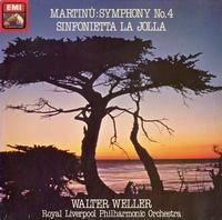 Walter Weller, Royal Liverpool Philharmonic Orchestra - Martinu: Symphony No. 4