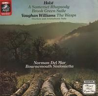 Del Mar - Holst: A Somerset Rhapsody etc.