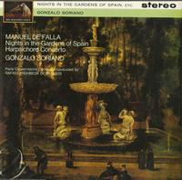 Rafael Fruhbeck De Burgos-Manuel De Falla: Nights in the Gardens of Spain--Harpsichord Concerto