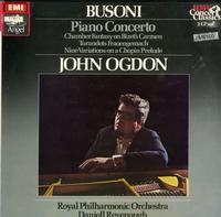 John Ogdon, Busoni, Royal Philharmonic Orchestra - Piano Concerto, Nine Variations on a Chopin Prelude