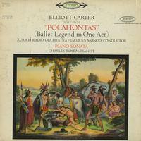 Monod, Zurich Radio Orchestra - Carter: Pocahontas Suite etc.