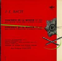 Beckensteiner, Fernandez, Duschenes, Goldberg, Larde, Paillard, Orchestre De Chambre - Bach: Concerto En La Mineur BW 1044, Concerto En Fa Majeur BW 1057