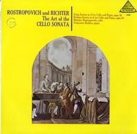 Mstislav Rostropovich and Sviatoslav Richter - The Art of the Cello Sonata