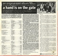 Original Cast Recording - A Hand Is On The Gate