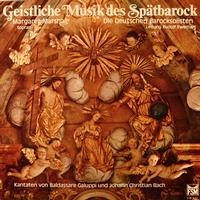 Marshall, Ewerhart, Die Deutschen Baroksolisten - Geistliche Musik des Spatbarock