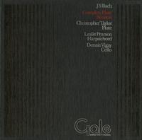 Christopher Taylor, Leslie Pearson, Dennis Vigay - J.S. Bach: Complete Flute Sonatas