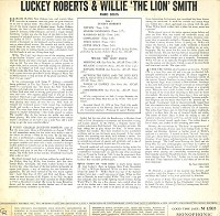Luckey Roberts & Willie 'The Lion' Smith - Luckey & The Lion