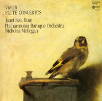 Janet See, Nicholas McGegan, Philharmonia Baroque Orchestra-Vivaldi: Flute Concertos